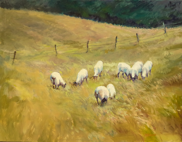 SheepInTheMeadow30x40